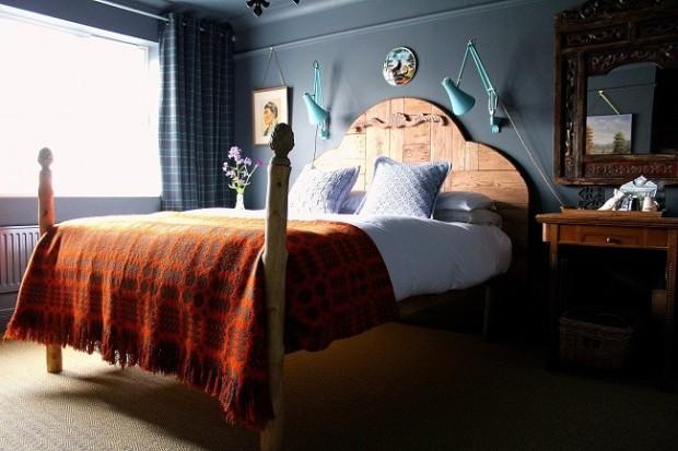 blogger bedrooms lazy Daisy Jones handmade bed.