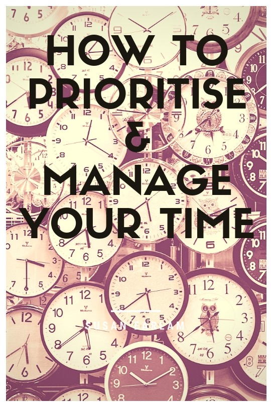 list technique to prioritise your time