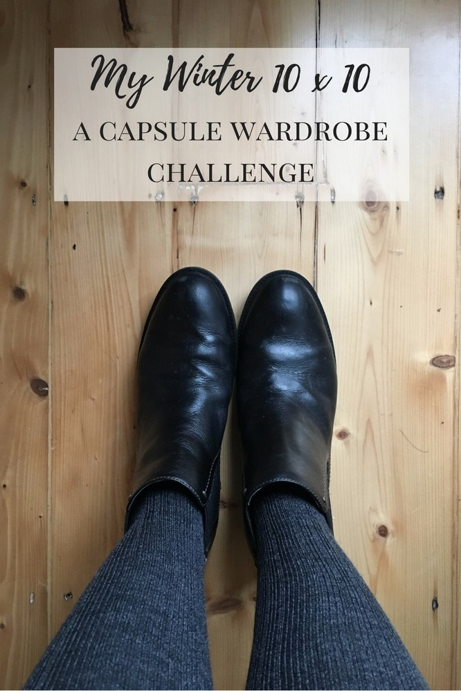 capsule wardrobe winter less but better dressing