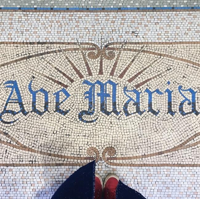 church mosaic floor