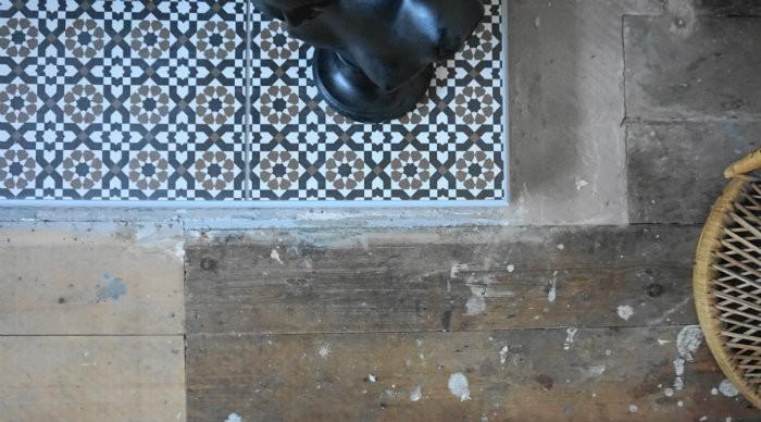 victorian morrocan tiles hearth
