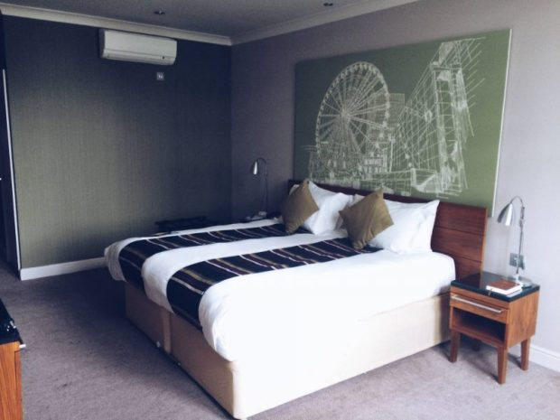 manchester hotel bedroom