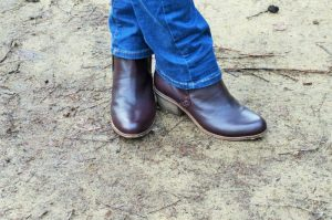 Shalford Asymetric Ankle Boots fat face