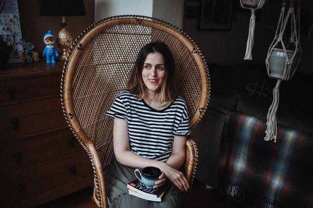 peacock chair stripes