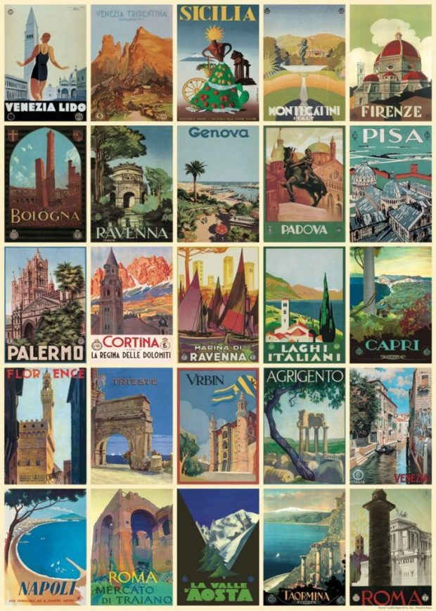 italy wrapping paper