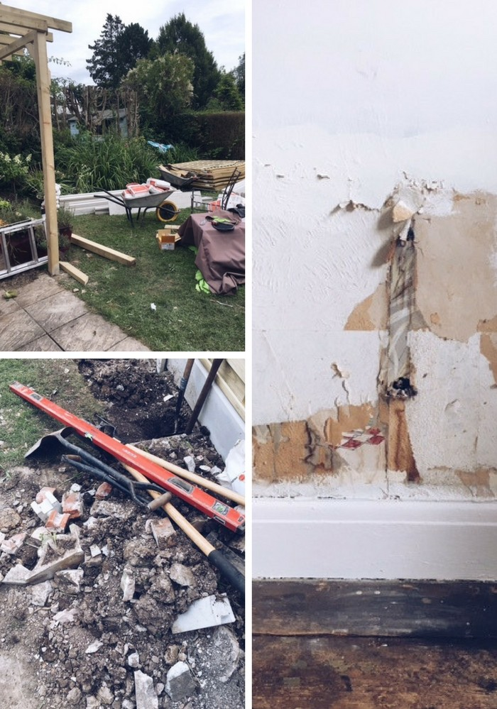 how to survive renovations on your home