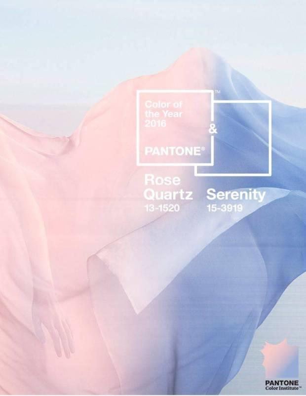 pantone rose quartz and serenity 2016