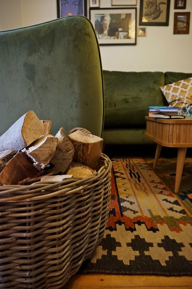 cosy living room new year gentle start
