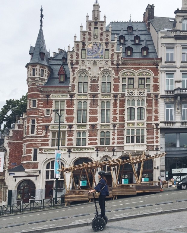 gorgeous architecture in Brussels