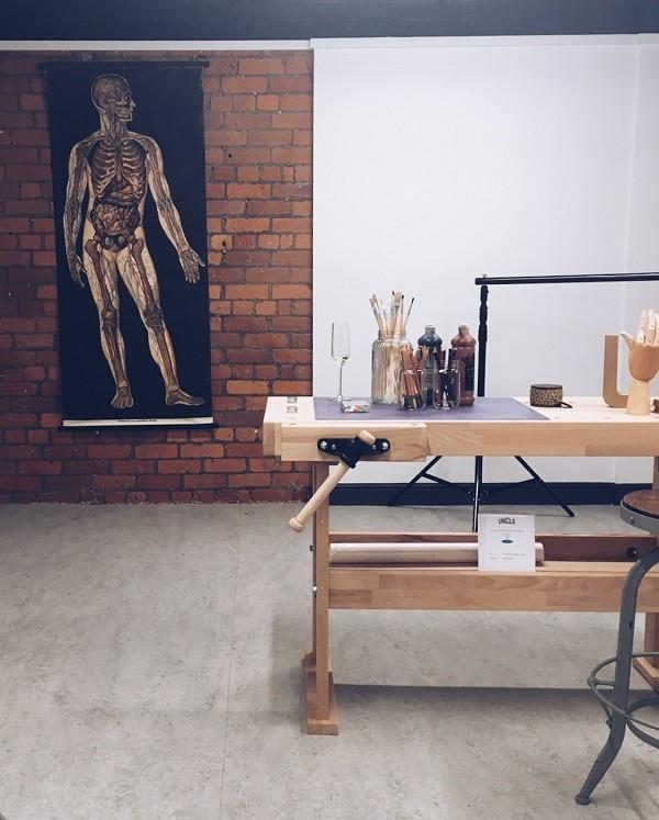 artist studio uncle manchester