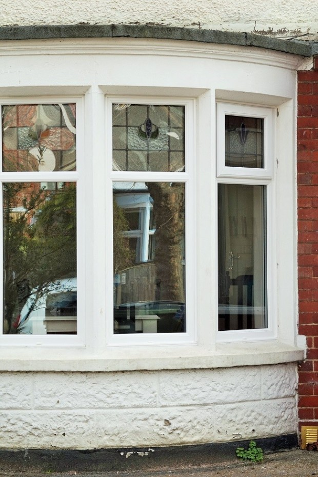 edwardian curved bay window