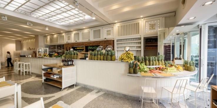 ginger vegan food raw menu in Rome