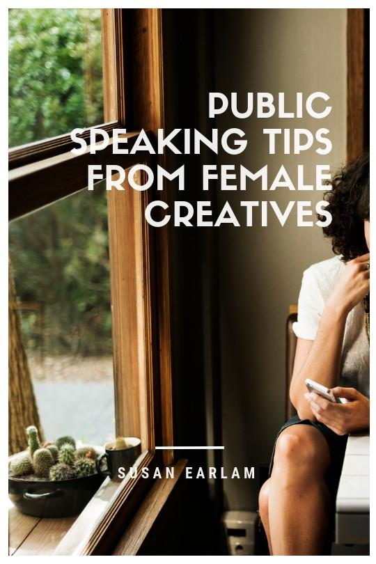 public speaking creative women