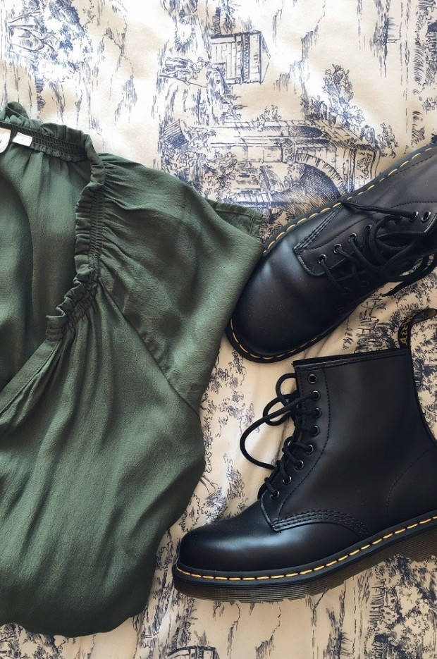 dr martens as part of a capsule wardrobe