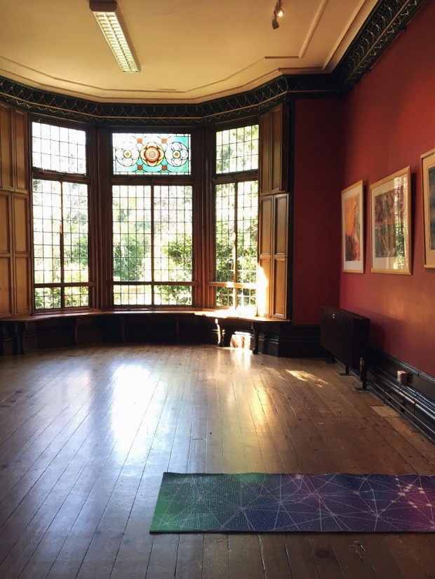 the most beautiful yoga venue in Manchester