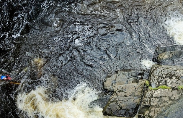 llangollen wales white water rafting river dee