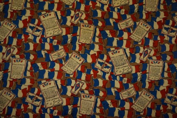 commemorative ww2 scarf print