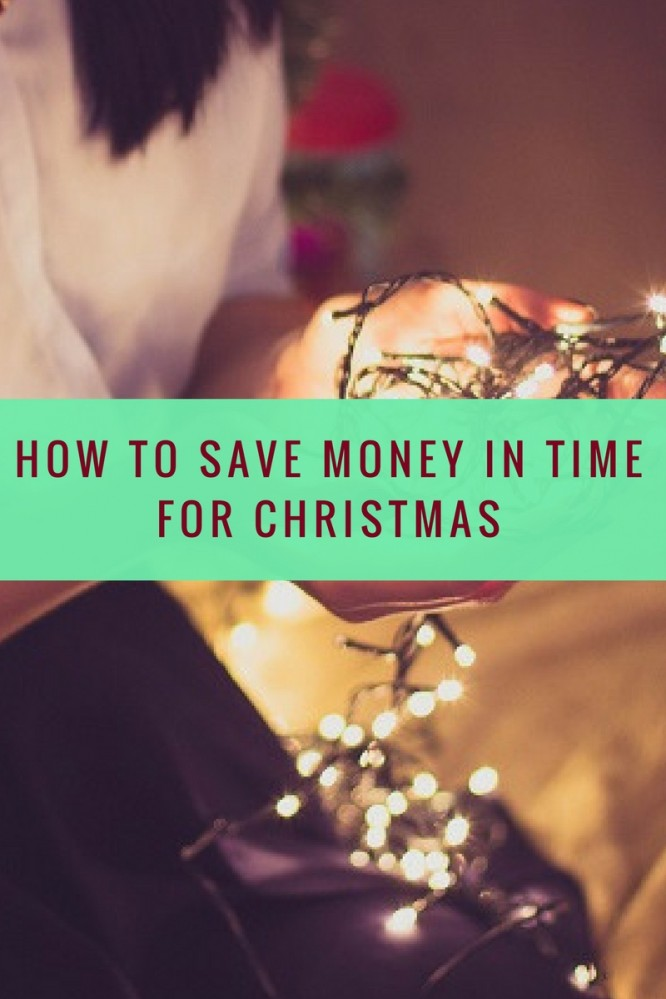 tips on saving money in time for christmas