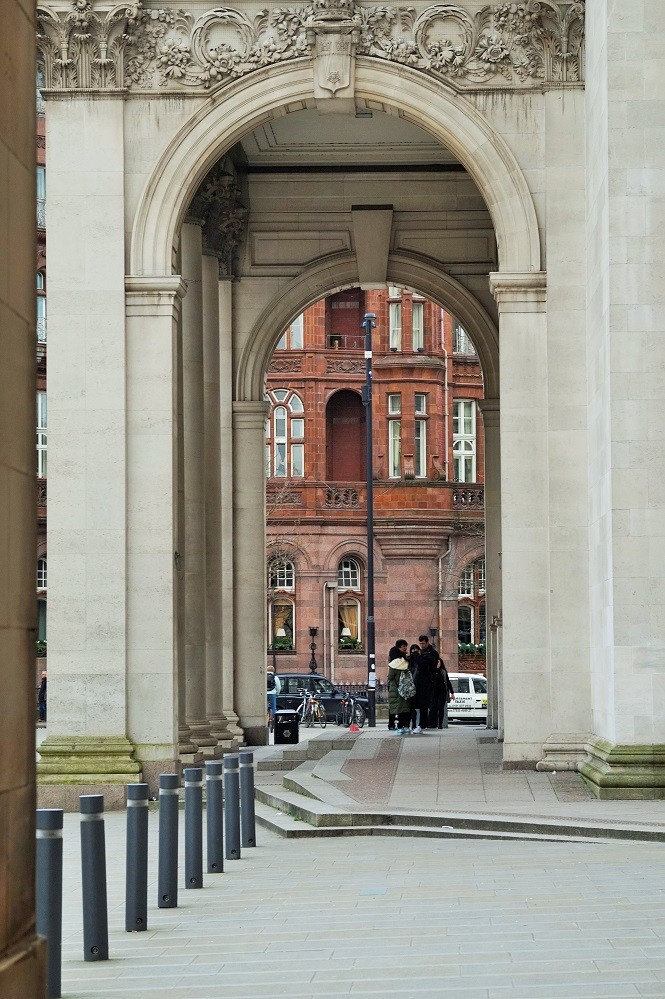 central library arch manchester
