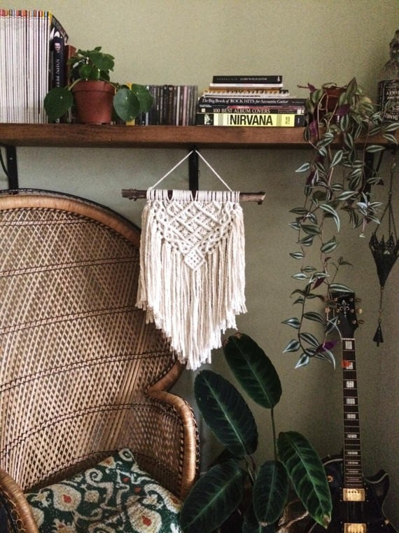 macrame wall hanging etsy pretty little knots