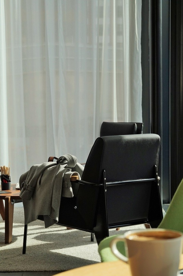 vitra furniture at citizenm
