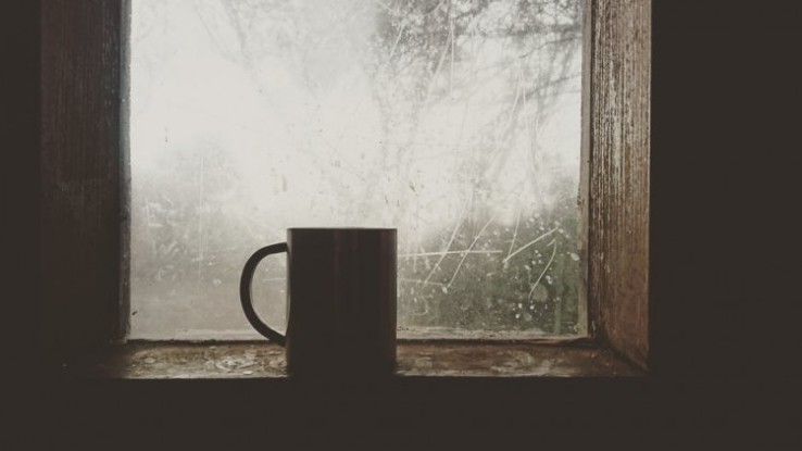 coffee in the window on quitting