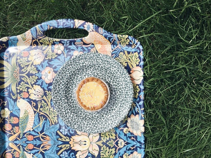 afternoon tea picnic in the garden