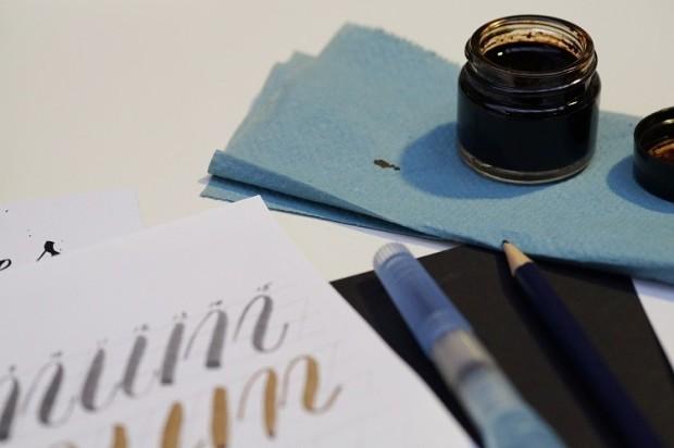 brush lettering manchester