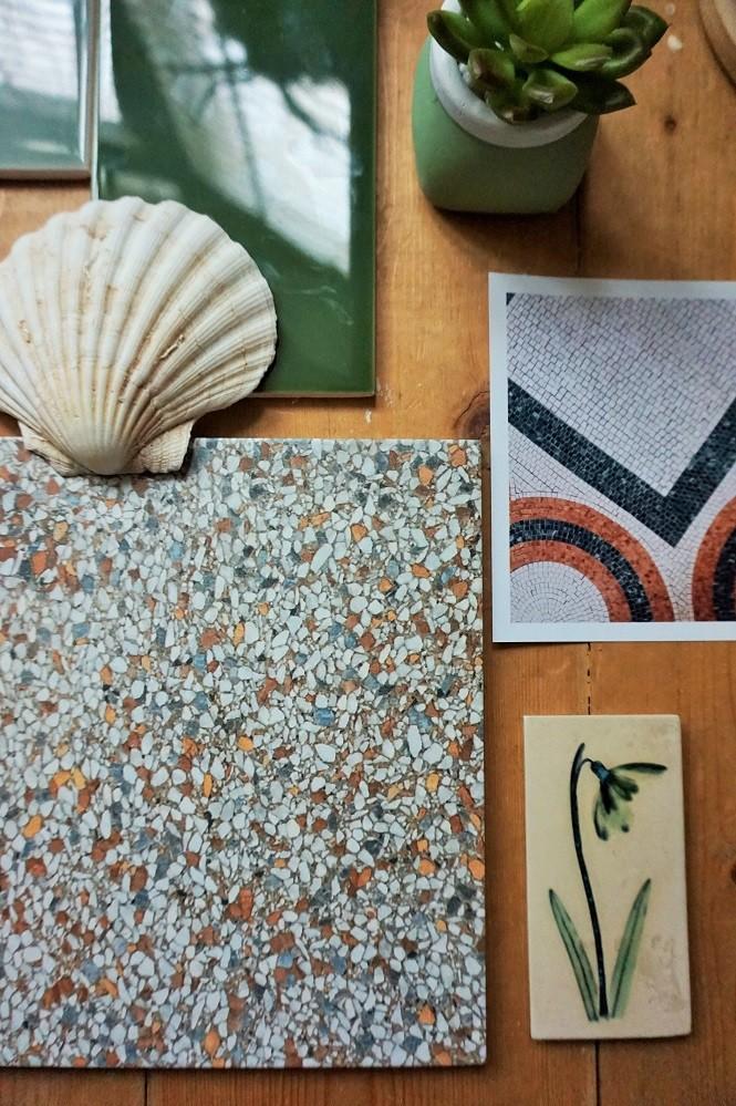 terrazzo tiles for bathroom