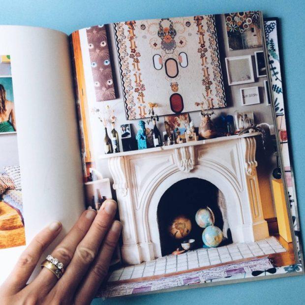 bohemian fireplace