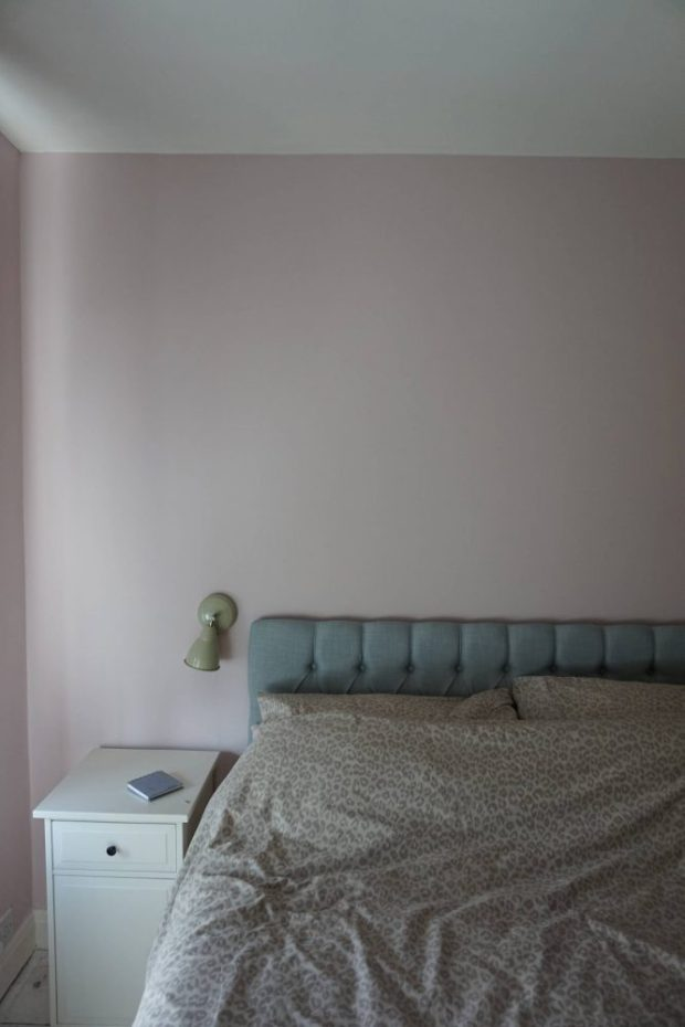 restful pink and grey colourscheme