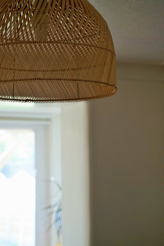 rattan light shade