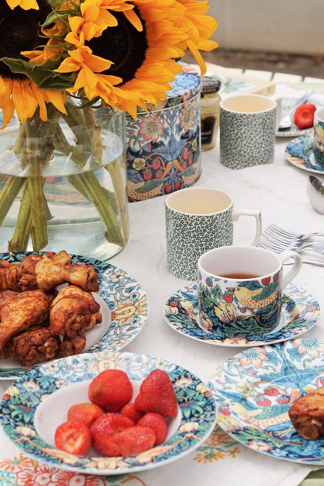 afternoon tea with spode