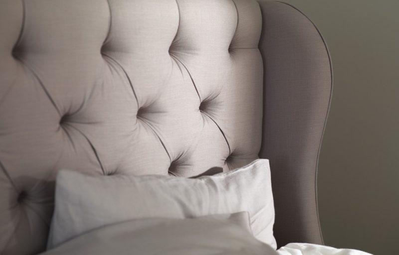boutique hotel bed button & sprung