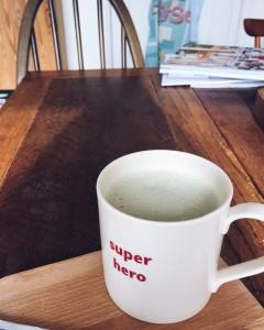 matcha boost matcha latte teapigs almond milk