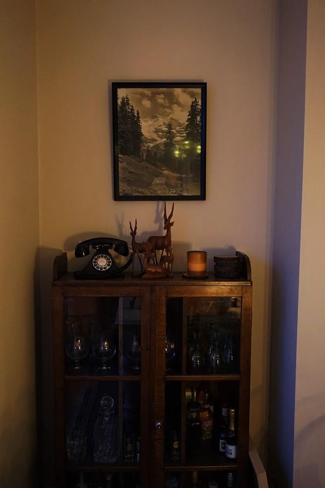 vintage drink cabinet