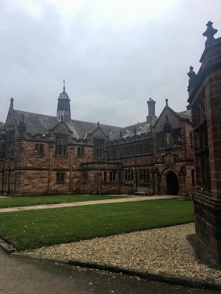 Gladstone's library exterior
