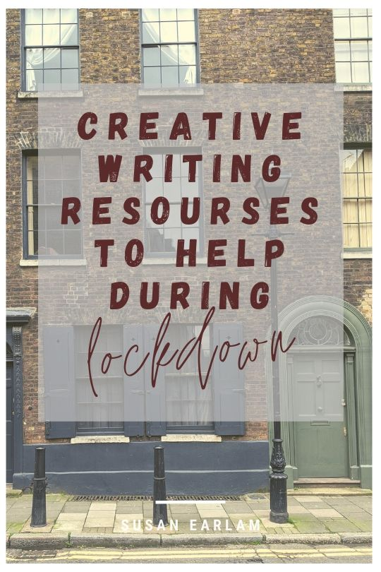 Creative writing resources (many free) under lockdown