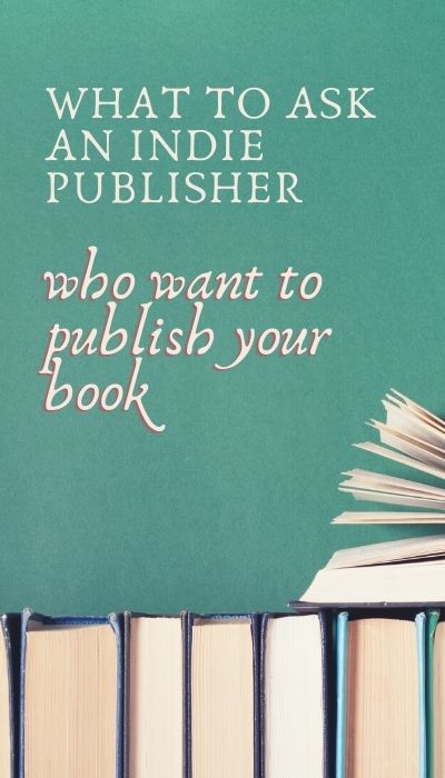 questions to ask and indie publisher